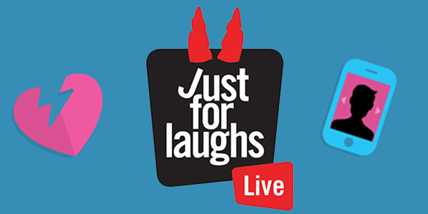 Get tickets for the Just for Laughs Relationship Show Peterborough Memorial Centre February 14, 2020