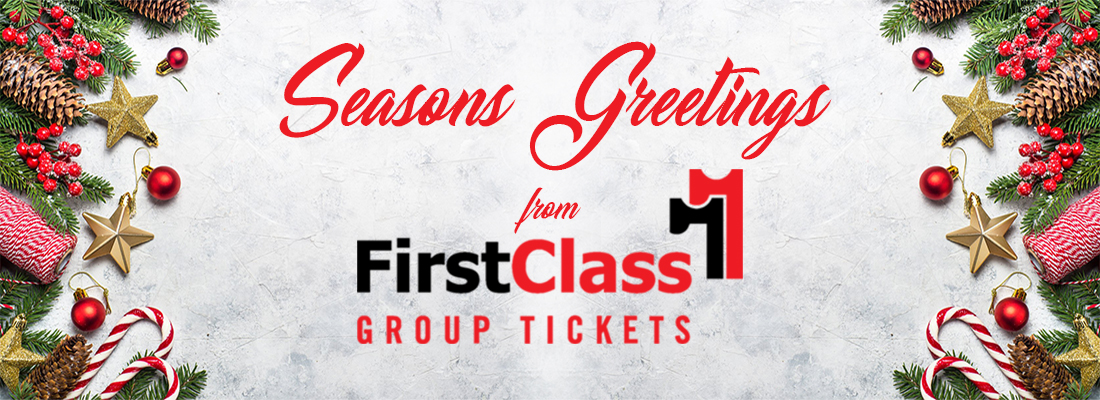 Great Christmas and Holiday Gifts Seasons Greetings from FirstClass Group Tickets