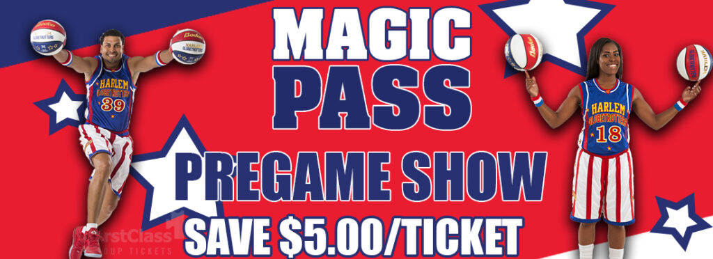 Picture of Harlem Globetrotters and Magic Pass for Group and Discount Ticket Perks