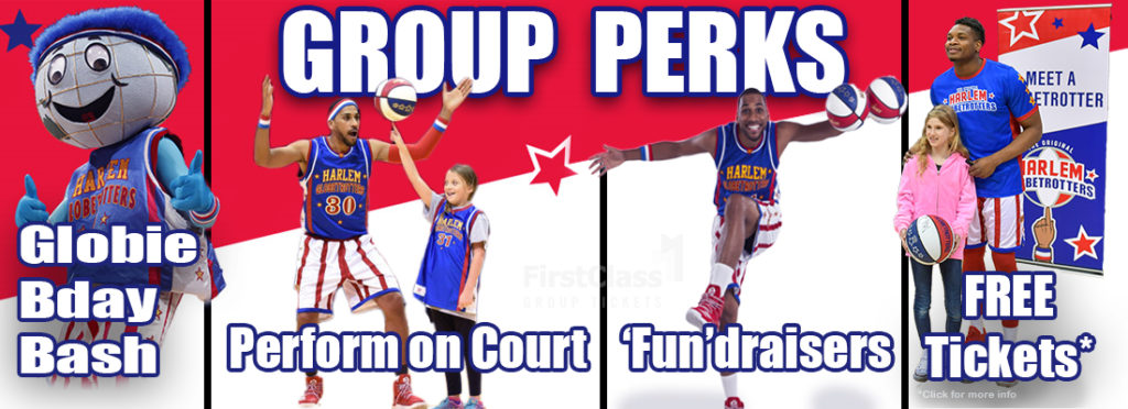 Picture of Harlem Globetrotters Group Ticket Perks