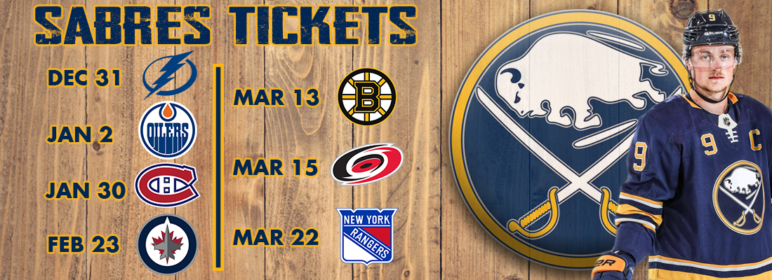 NHL hockey tickets for the Buffalo Sabres home games. Direct purchase link. Just click.