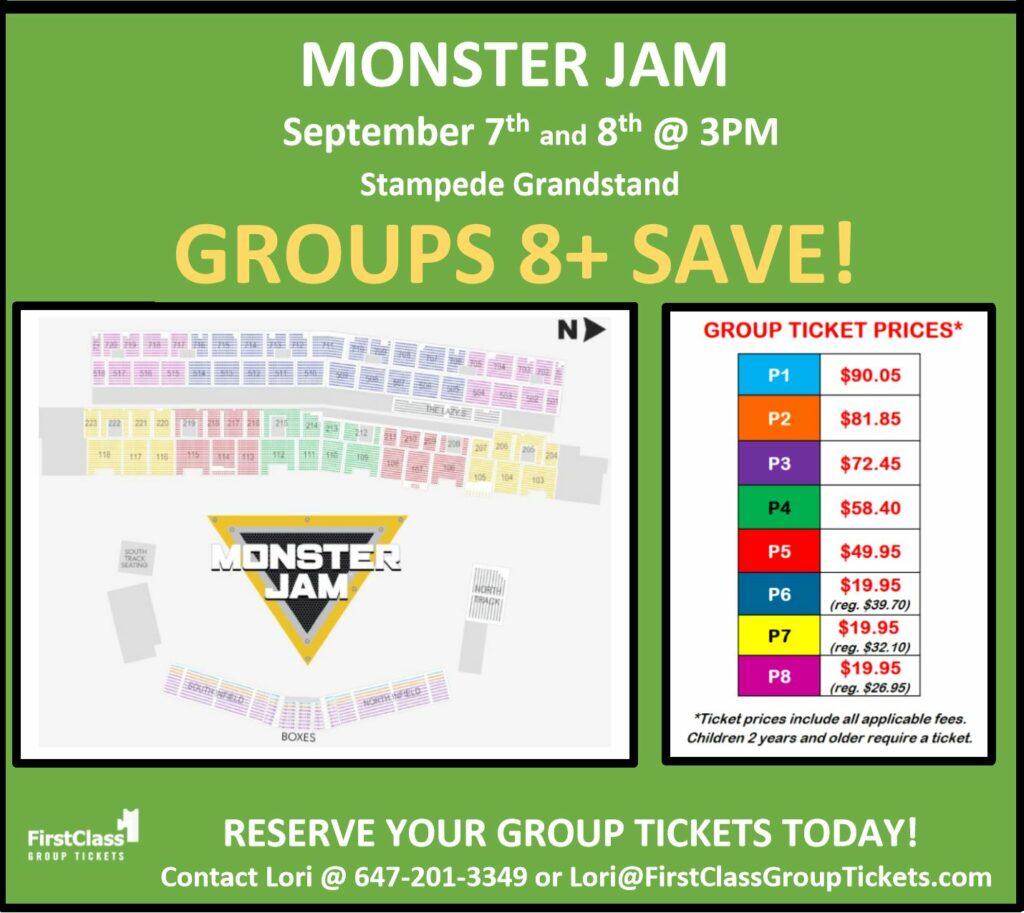 Monster Jam - Calgary - Stampede Grandstand - First Class