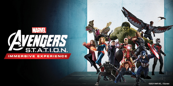 Tickets for Avengers Station Toronto Yorkdale Centre October 11 - January 9 2022