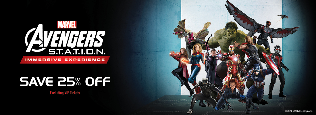 Tickets for Avengers Station Toronto Yorkdale Centre October 5 - January 9 2022