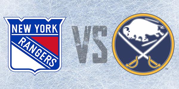 Hockey tickets for the Buffalo Sabres vs. New York Rangers Sunday March 22, 2020 @ 3:00 pm KeyBank Center Buffalo
