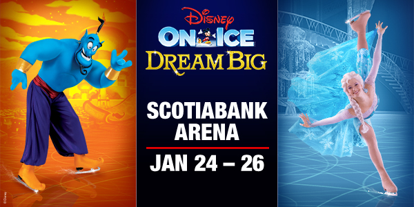 Tickets for Disney On Ice Dream Big at Scotiabank Arena Toronto January 24-26, 2020