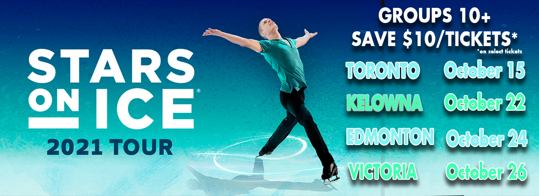 Picture of Stars On Ice 2021 tickets in Kelowna, Victoria, Edmonton, Toronto with skater presenting