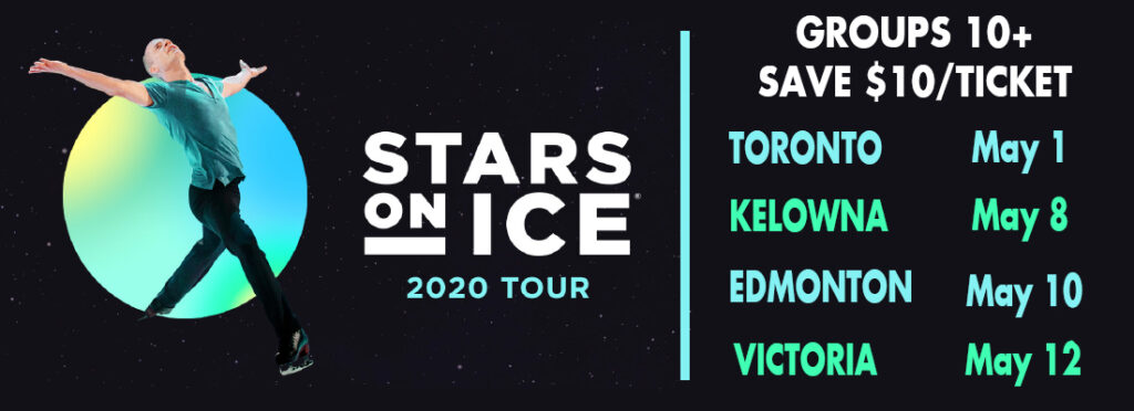 Save on Tickets for Stars On Ice Across Canada 2020 with FirstClass Group Tickets