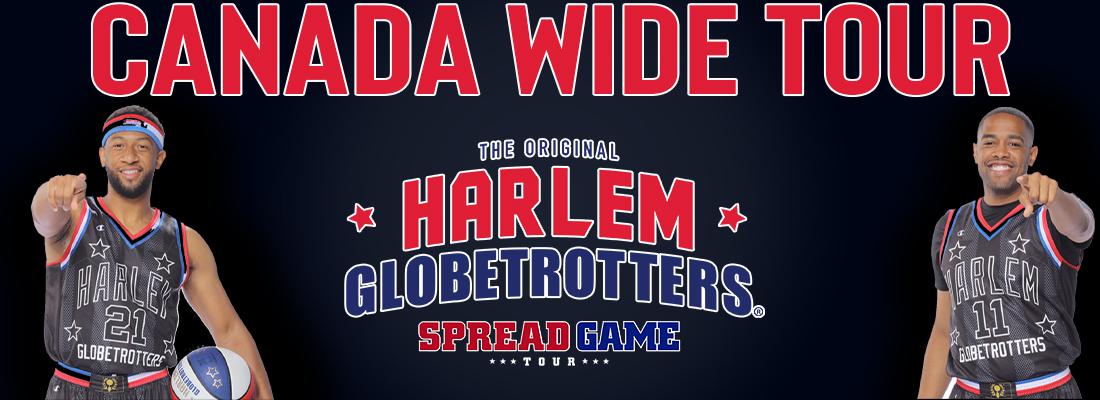 Harlem Globetrotter Tickets Across Canada 2022