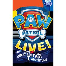 Paw Patrol Live Partner Logo